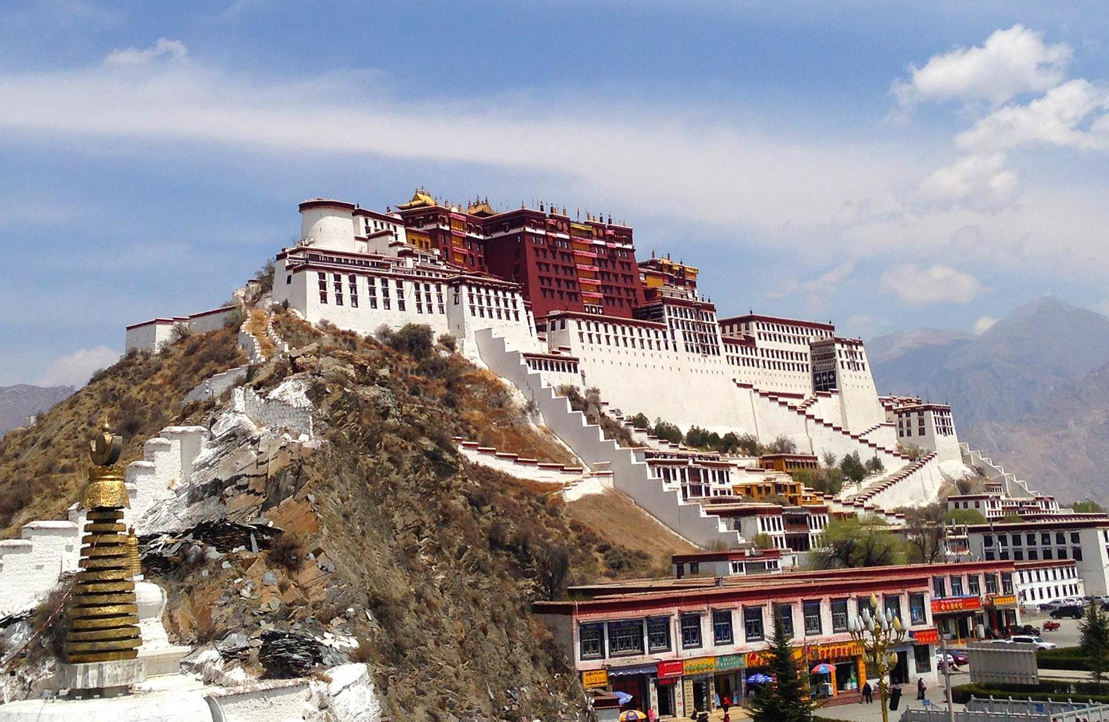 Potala Palace . Lhasa